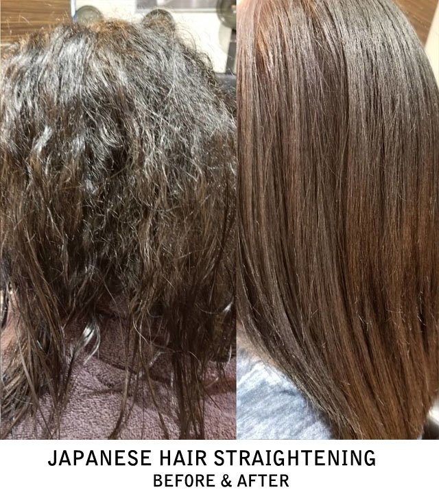 Japanese Permanent Hair Straightening