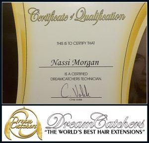 Certified DreamCatchers Hair Extensions Stylist
