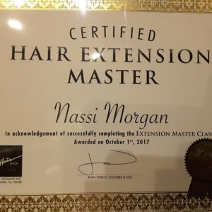 Certified Hair Extensions Master