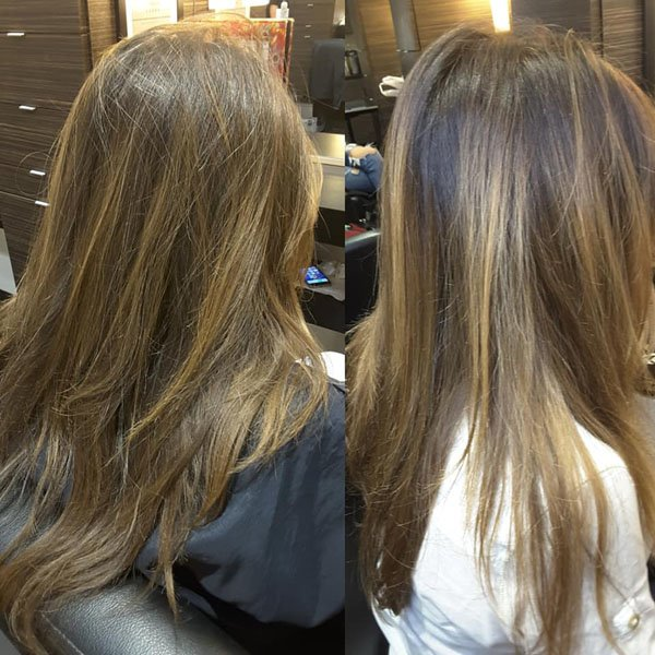 Balayage On Brown Hair 2