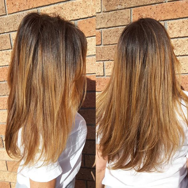 Balayage On Brown Hair