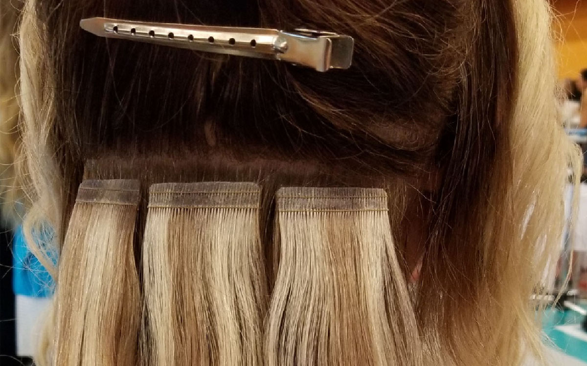 Tape In Hair Extensions Near Me In Scottsdale Mesa Salon