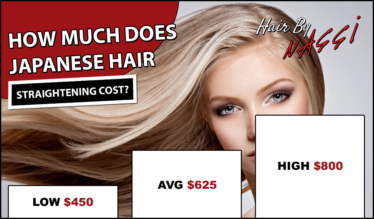 Japanese Hair Straightening Costs